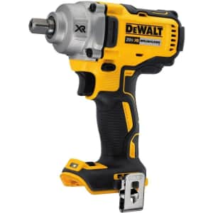 """DeWalt 20V MAX XR Cordless 1/2"""" Impact Wrench (No Battery) for $147"""