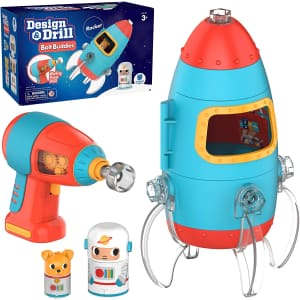 Educational Insights Design and Drill Bolt Buddies Rocket for $20