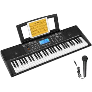 Donner 61-Key Beginner Electronic Piano for $96