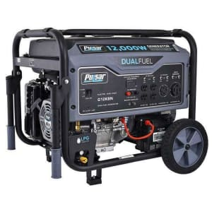 Pulsar 12,000W Dual Fuel Propane/Gas Portable Generator for $868