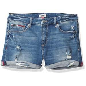 Tommy Hilfiger Women's Denim Shorts, Riptide, 32 for $44