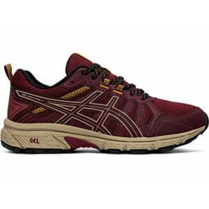 ASICS Women's Gel-Venture 7 Running Shoes, 6M, Chili Flake/Wood Crepe for $65