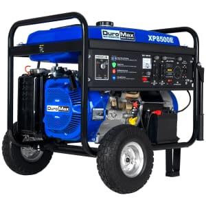 DuroMax 8,500-Watt 420cc Gas Generator for $999