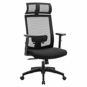 SONGMICS Mesh Office Chair, High-Back Computer Desk Chair, Ergonomic Chair, Lockable Tilt Angle up for $100