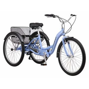 Schwinn Meridian Adult Trike, Three Wheel Cruiser Bike, 7-Speed, 26-Inch Wheels, Cargo Basket, for $789