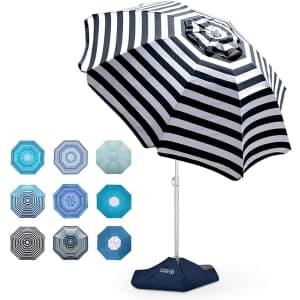 OutdoorMaster 6.5-Foot Beach Umbrella for $32