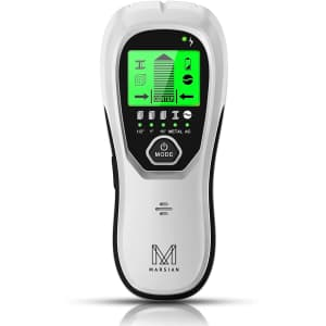 M Marsian 5-in-1 Electronic Stud Finder with LCD Display for $17