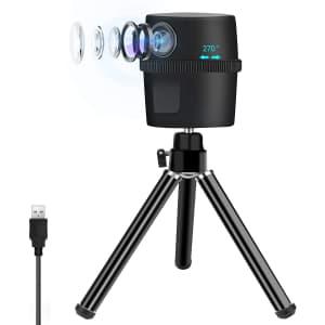 ZasLuke 1080p HD USB Motion Tracking Webcam ZL-034 for $30