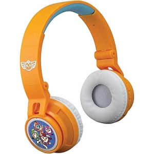 eKids Top Wing Kids Bluetooth Headphones for Kids Wireless Rechargeable Foldable Bluetooth Headphones for $19