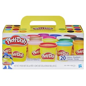 Play-Doh Super Color 20-Pack for $12