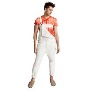 Sun + Stone Men's Baxter Relaxed-Fit Overalls for $35