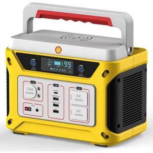 Shell 500W/583Wh Portable Power Station for $401