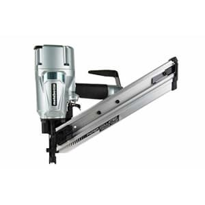 Metabo HPT Framing Nailer, Pneumatic, Accepts 30 Degree Paper Strip Collated Clipped Head Nails and for $299