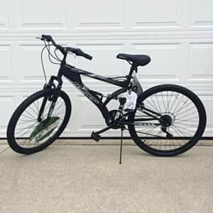 "Hyper Bicycles Generic 26"" Hyper Havoc Full Suspension Men's Mountain Bike, Black for $182"