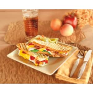 Hamilton Beach 25460 Panini Press Gourmet Sandwich Maker (Discontinued) for $91
