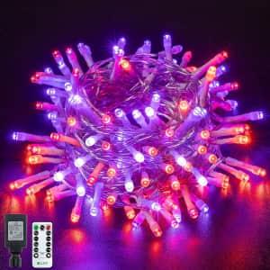 Ollny 60-Foot Halloween String Lights for $10