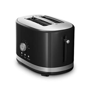 KitchenAid 2-Slice Toaster with High Lift Lever KMT2116OB, Onyx Black for $79
