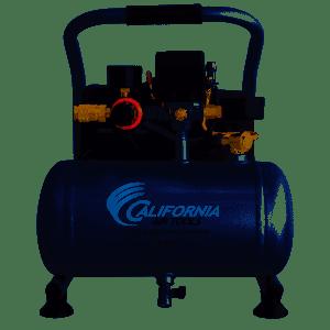 California Air Tools CAT-1P1060S Light & Quiet Portable Air Compressor, Silver for $120