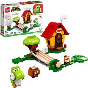 LEGO Super Mario Mario's House & Yoshi Expansion Set for $24