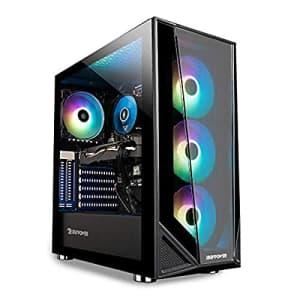 iBUYPOWER Pro Gaming PC Computer Desktop Trace 4 MR 9340 (AMD Ryzen 5 3600 3.6GHz, AMD Radeon RX for $996
