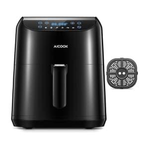 Aicook 5.8-Quart Electric Air Fryer for $63