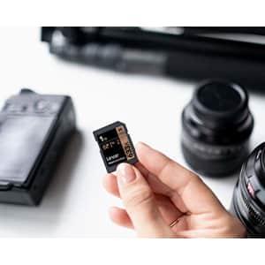 Lexar Professional 633x 32GB SDHC UHS-I Card (LSD32GCB1NL633) for $9