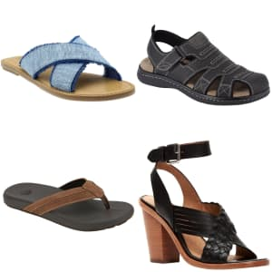 Shoebacca Summer Sandals Sale: Up to 70% off + extra 10% off