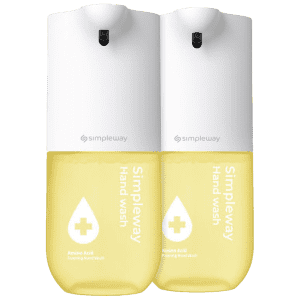 Simpleway Automatic Soap Dispenser w/ Foaming Wash: 2 for $18