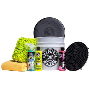 Chemical Guys 8-Item Car Cleaning Kit for $63