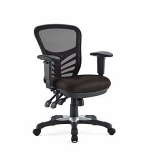 Modway Articulate Ergonomic Mesh Office Chair in Brown for $208