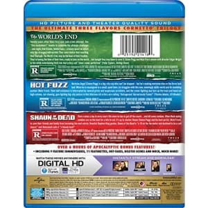 Universal Studios Shaun of the Dead / Hot Fuzz / The World's End Trilogy [Blu-ray] for $15