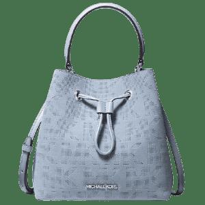 Michael Michael Kors Suri Logo Perforated Suede Crossbody Bag for $99