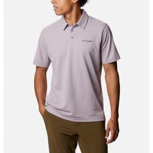 Columbia Men's Havercamp Pique Polo Shirt for $18