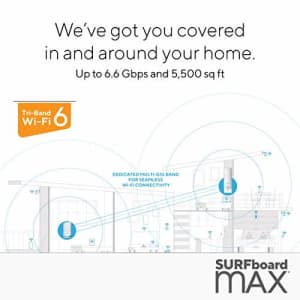 ARRIS Surfboard mAX Tri-Band Wi-Fi 6 Mesh System for $517