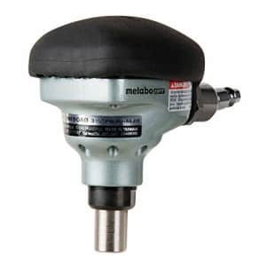 """Metabo HPT Palm Nailer, Pneumatic, Accepts Nails From 2-1/2"""" to 3-1/2"""", 360 Swivel Fitting, for $49"""