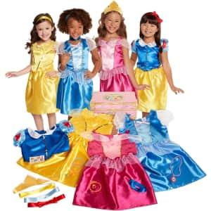 Disney Princess 21-Piece Deluxe Dress Up Trunk for $35