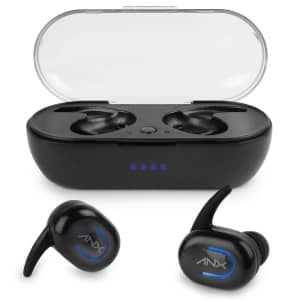 Anx SyncBuds True Wireless Earbuds w/ Charging Case for $10