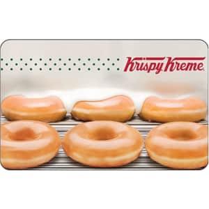 $25 Krispy Kreme Gift Card for $19