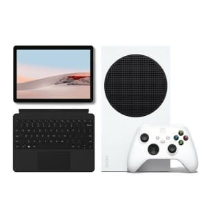 Microsoft Xbox Series S 512GB Console with Microsoft Surface Go 2 Bundle for $760