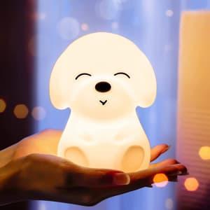 Mubarek Puppy LED Night Light for $10