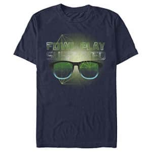 Disney Men's Artemis Fowl Play T-Shirt, Navy Blue, xx-Large for $20