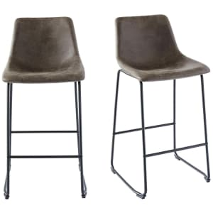 """Picket House Furnishings Collins 29"""" Bar Stool 2-Pack for $97"""