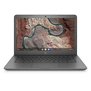 HP Chromebook 14-inch Laptop with 180-Degree Swivel, AMD Dual-Core A4-9120 Processor, 4 GB SDRAM, for $200