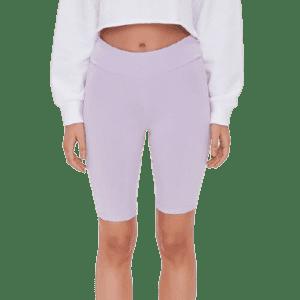 Forever 21 Women's High-Rise Biker Shorts for $4
