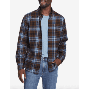 Eddie Bauer Fall Faves: 30% off iconic flannels