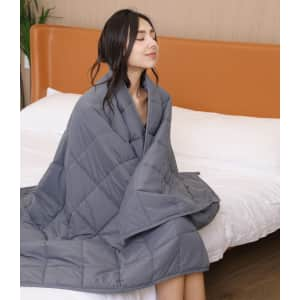 """G&Monday 36"""" x 48"""" Weighted Blanket for $17"""