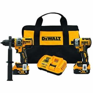 DEWALT FLEXVOLT ADVANTAGE 20V MAX Combo Kit with Hammer Drill & Impact Driver, 5.0-Ah, 2-Tool for $350