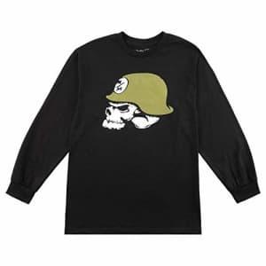 Metal Mulisha Men's Og Helmet Long Sleeve Tee Shirt Black, Small for $30
