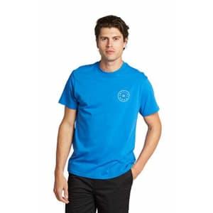 Billabong Men's Classic Short Sleeve Premium Logo Graphic Tee T-Shirt, Royal Rotor, Small for $24