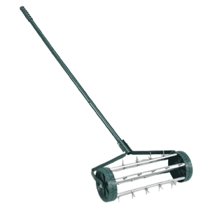 Heavy Duty Rolling Garden Lawn Aerator for $38